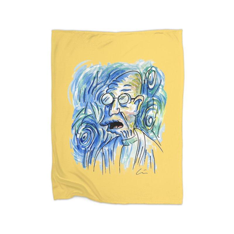 Vincent Van Hubert Home Blanket by luisquintano's Artist Shop