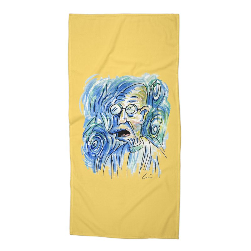 Vincent Van Hubert Accessories Beach Towel by luisquintano's Artist Shop