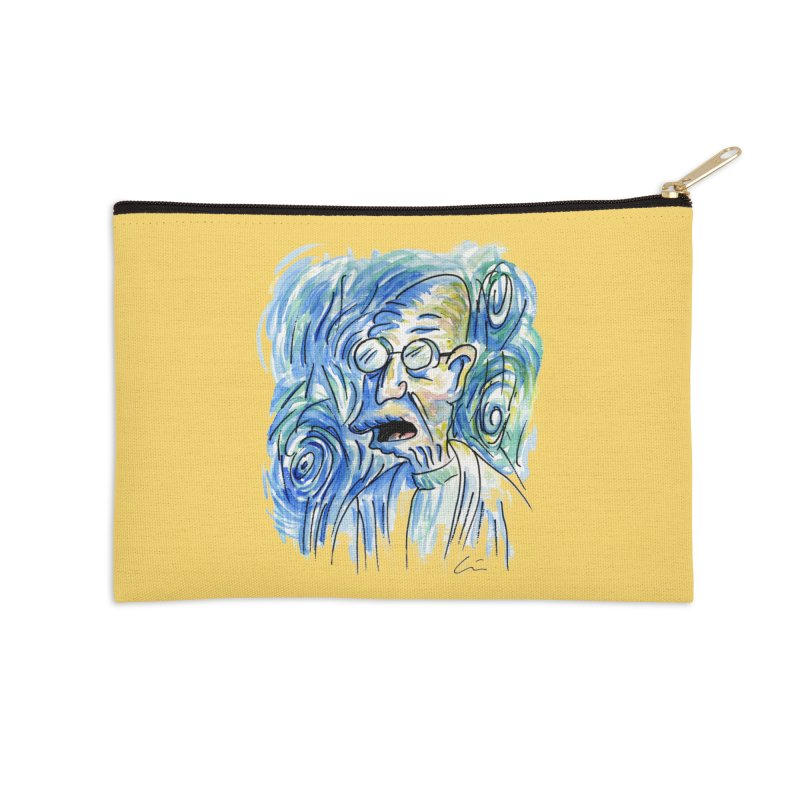 Vincent Van Hubert Accessories Zip Pouch by luisquintano's Artist Shop