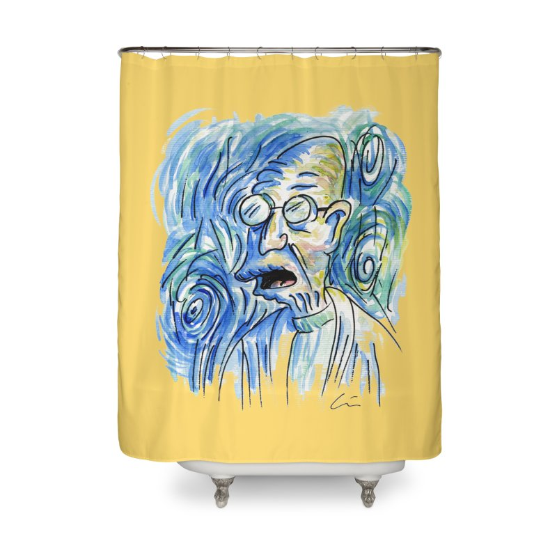 Vincent Van Hubert Home Shower Curtain by luisquintano's Artist Shop
