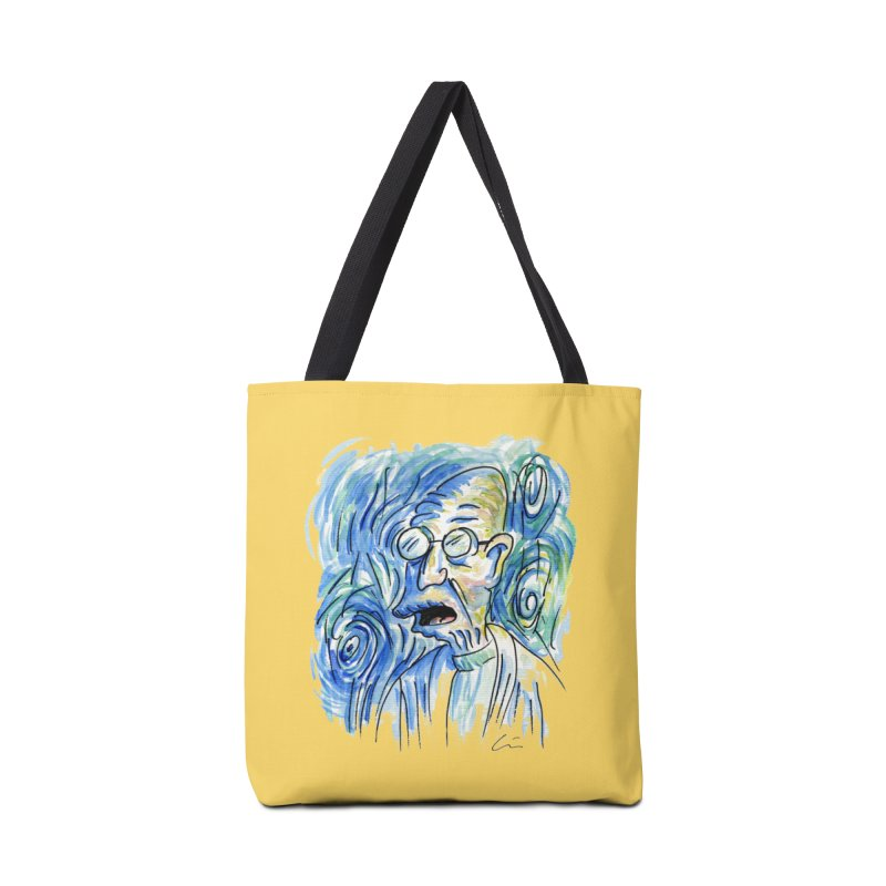 Vincent Van Hubert Accessories Bag by luisquintano's Artist Shop