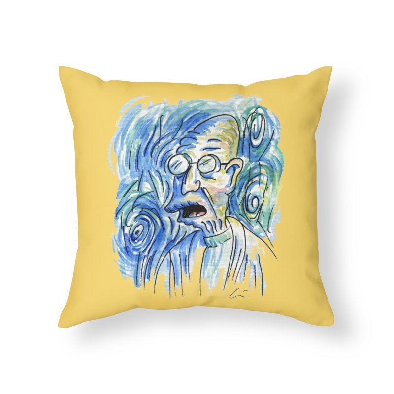 Vincent Van Hubert Home Throw Pillow by luisquintano's Artist Shop