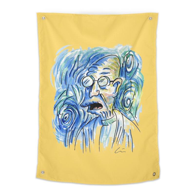 Vincent Van Hubert Home Tapestry by luisquintano's Artist Shop