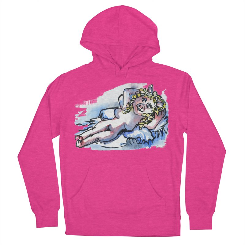 Nude Peggy Women's Pullover Hoody by luisquintano's Artist Shop