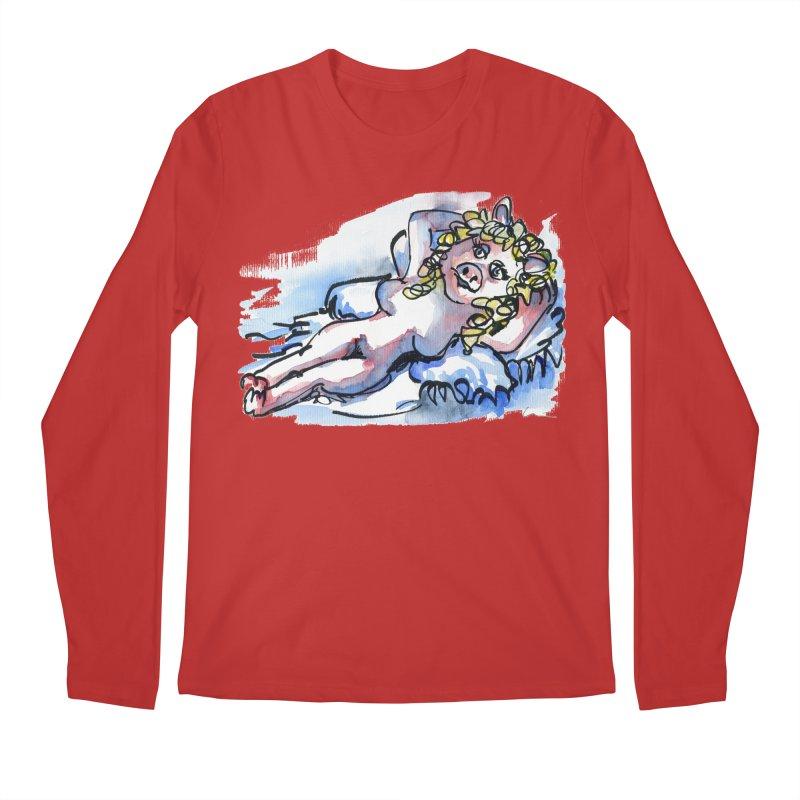 Nude Peggy Men's Longsleeve T-Shirt by luisquintano's Artist Shop