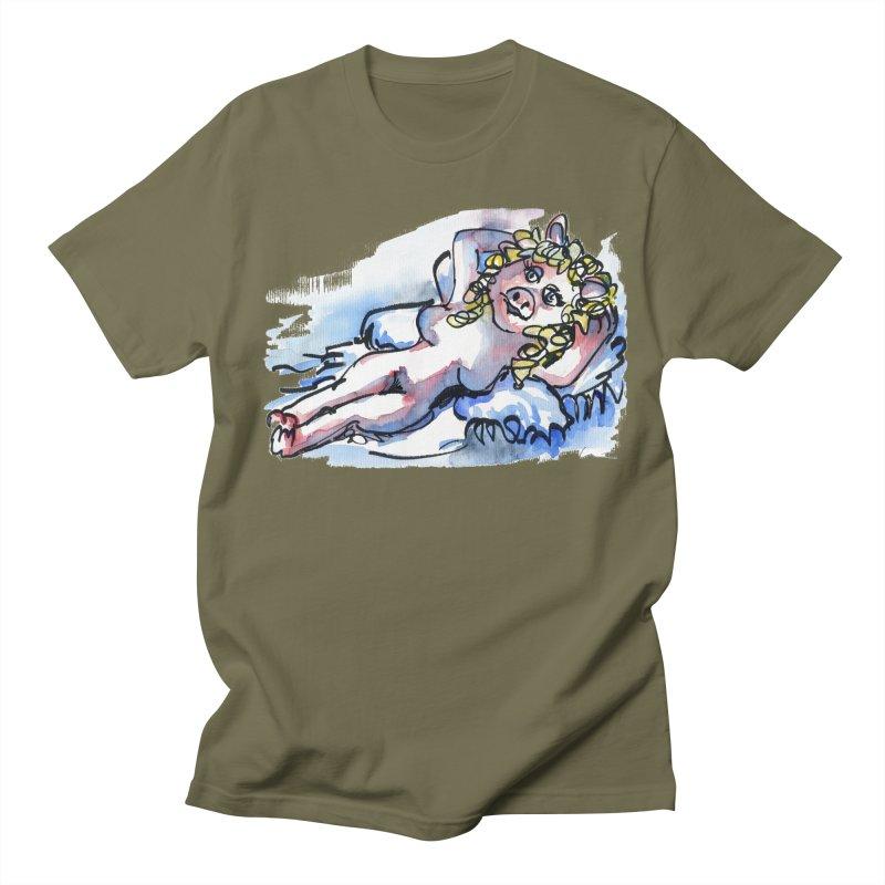 Nude Peggy Men's T-Shirt by luisquintano's Artist Shop