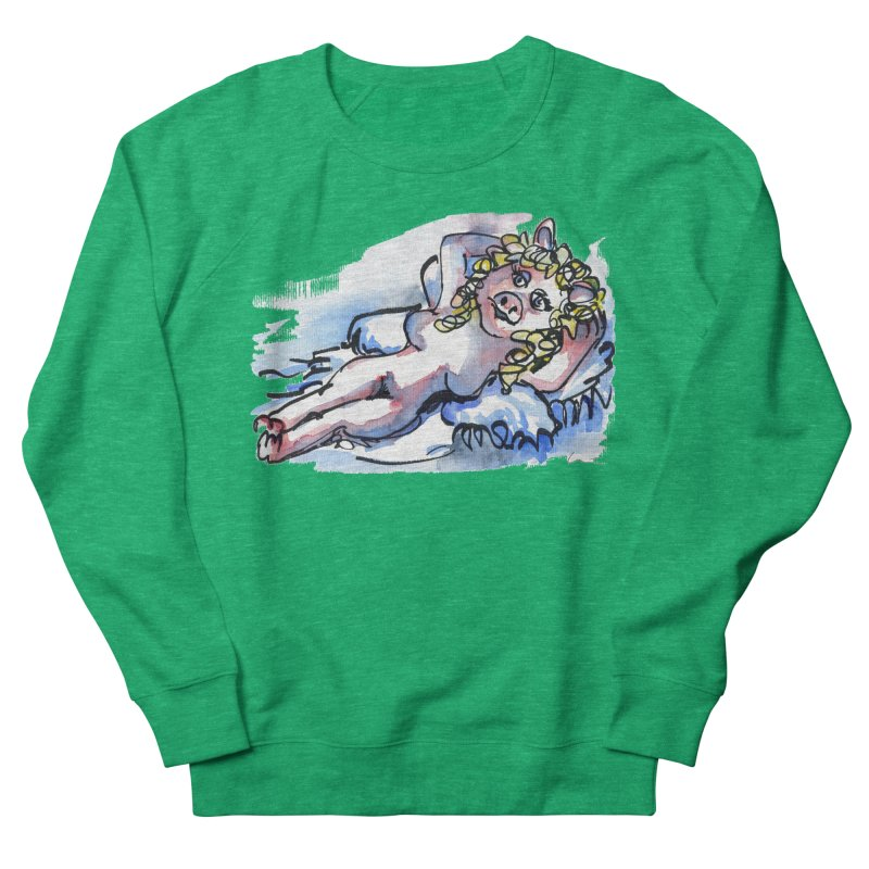 Nude Peggy Women's Sweatshirt by luisquintano's Artist Shop