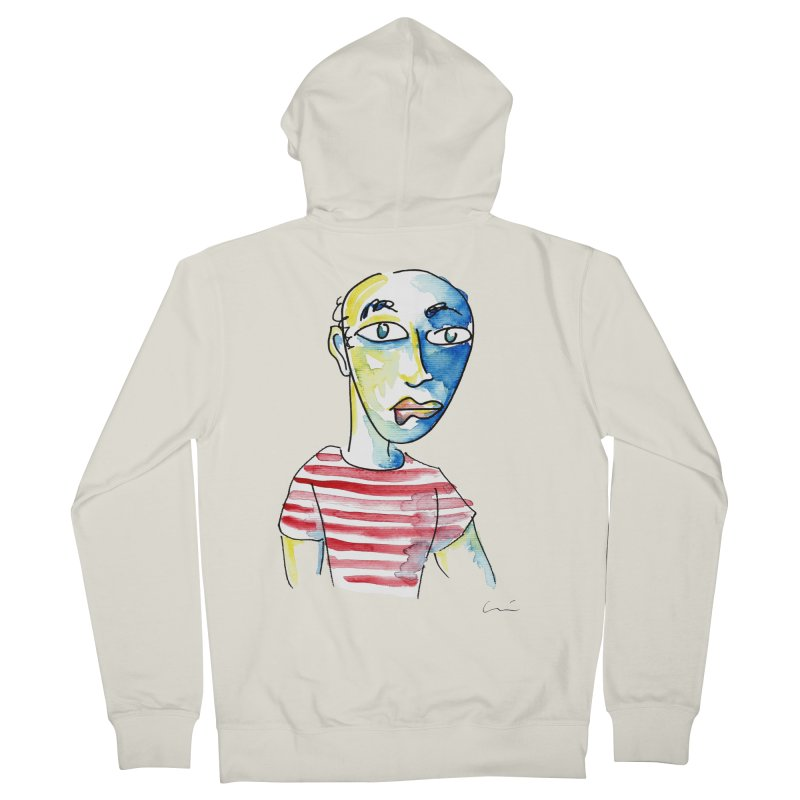 Picasso Women's Zip-Up Hoody by luisquintano's Artist Shop