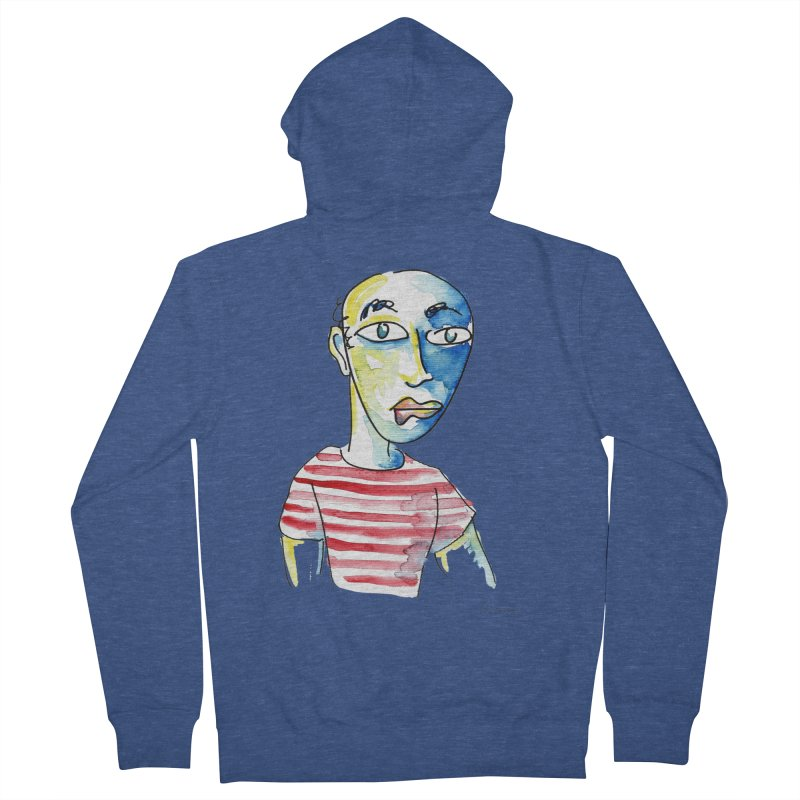 Picasso Men's Zip-Up Hoody by luisquintano's Artist Shop