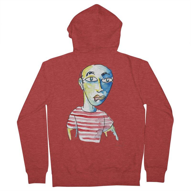 Picasso Men's Zip-Up Hoody by luisquintano's Artist Shop