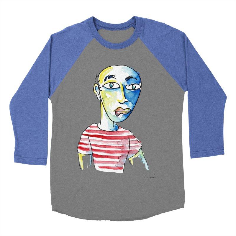 Picasso Women's Baseball Triblend T-Shirt by luisquintano's Artist Shop