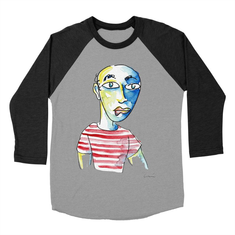 Picasso Women's Baseball Triblend T-Shirt by luisquintano's Artist Shop