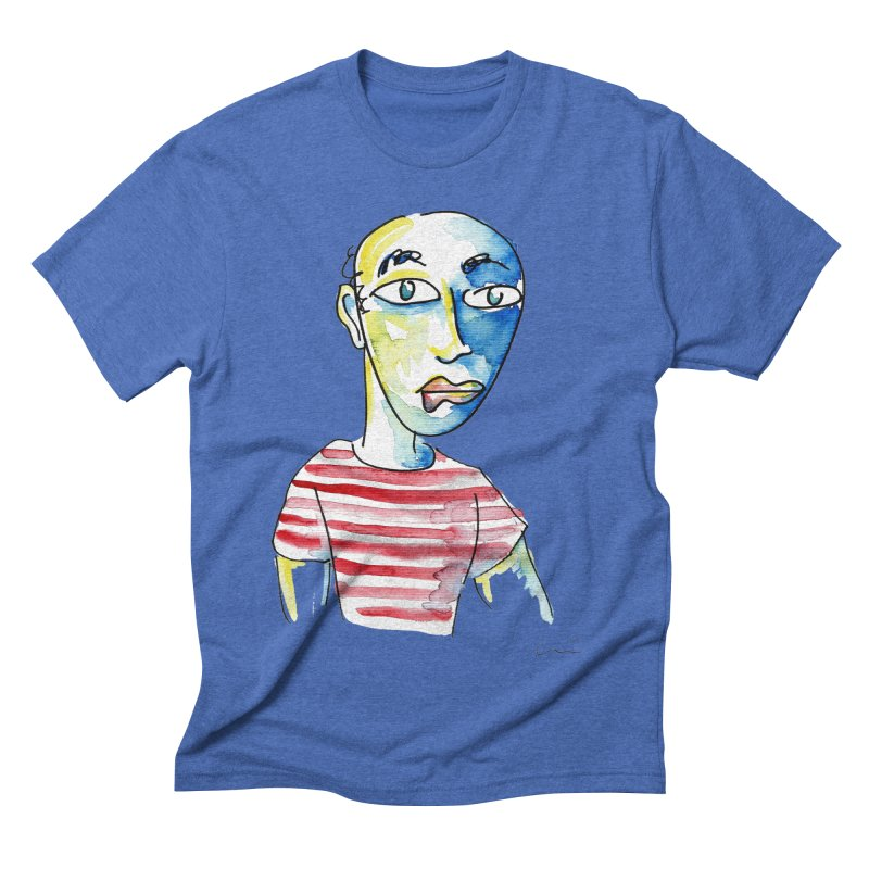 Picasso Men's Triblend T-shirt by luisquintano's Artist Shop