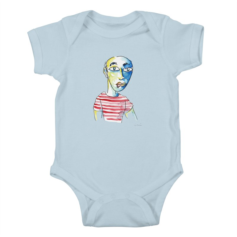 Picasso Kids Baby Bodysuit by luisquintano's Artist Shop