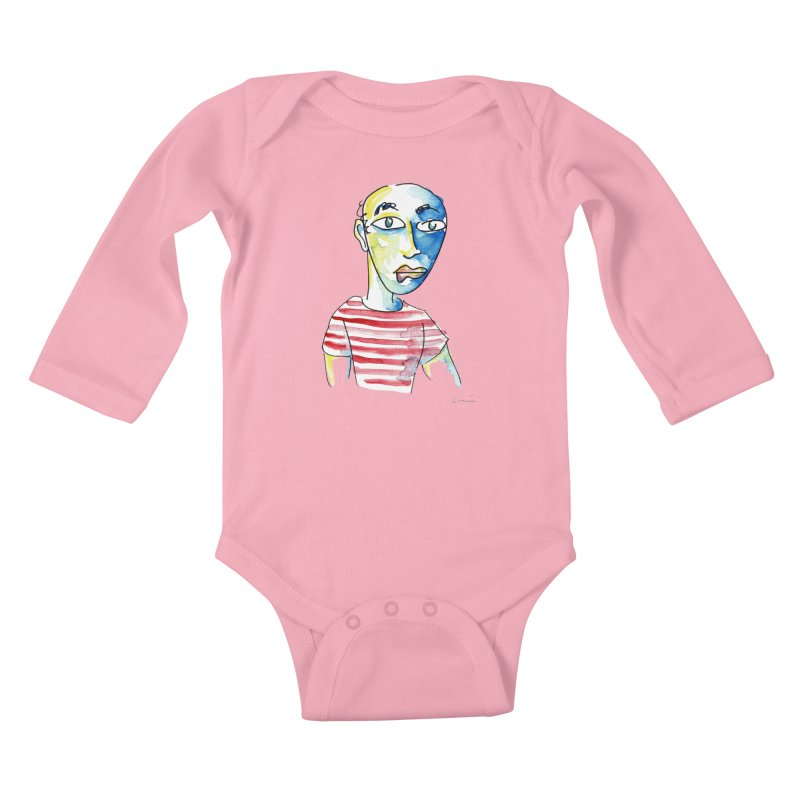 Picasso Kids Baby Longsleeve Bodysuit by luisquintano's Artist Shop