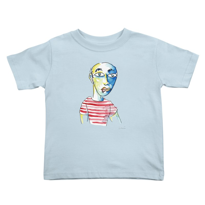 Picasso Kids Toddler T-Shirt by luisquintano's Artist Shop