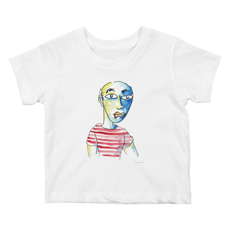 Picasso Kids Baby T-Shirt by luisquintano's Artist Shop