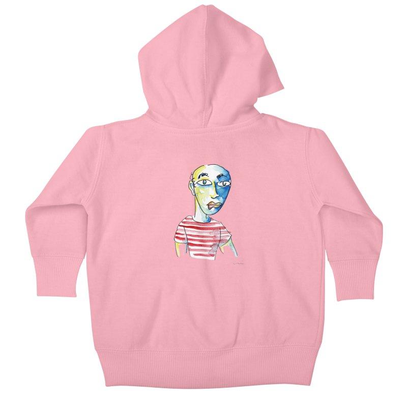 Picasso Kids Baby Zip-Up Hoody by luisquintano's Artist Shop