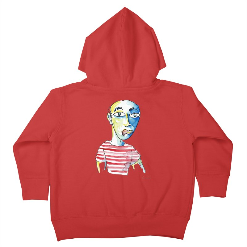 Picasso Kids Toddler Zip-Up Hoody by luisquintano's Artist Shop