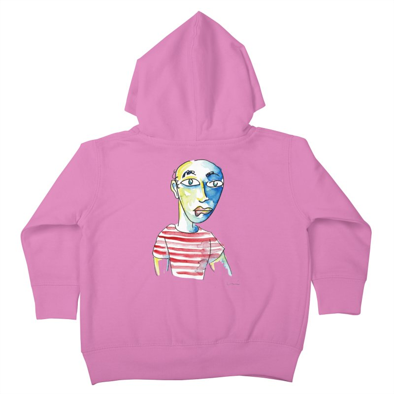 Picasso Kids Toddler Zip-Up Hoody by luisquintano's Artist Shop