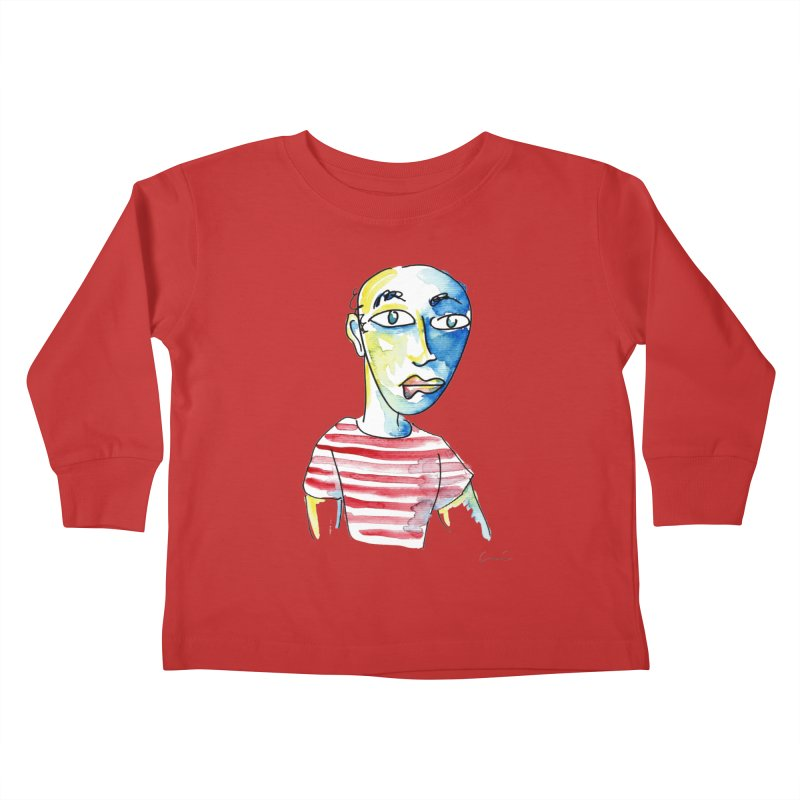Picasso Kids Toddler Longsleeve T-Shirt by luisquintano's Artist Shop