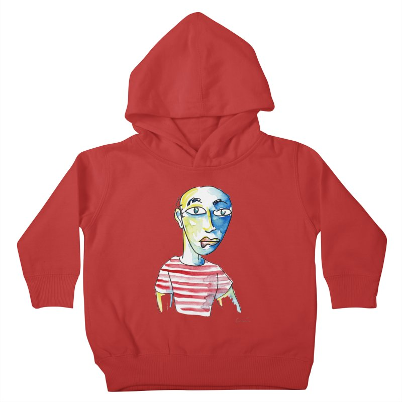 Picasso Kids Toddler Pullover Hoody by luisquintano's Artist Shop