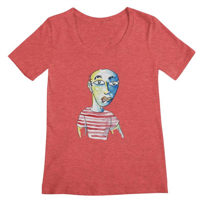 Picasso Women's Scoopneck by luisquintano's Artist Shop