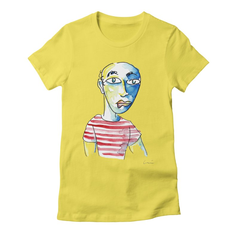 Picasso Women's Fitted T-Shirt by luisquintano's Artist Shop