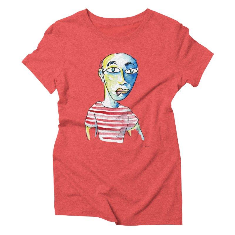 Picasso Women's Triblend T-Shirt by luisquintano's Artist Shop