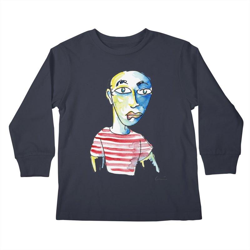 Picasso Kids Longsleeve T-Shirt by luisquintano's Artist Shop