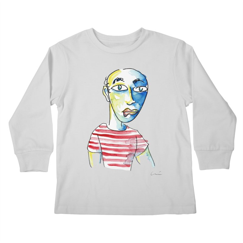 Picasso Kids Longsleeve T-Shirt by luisquintano's Artist Shop