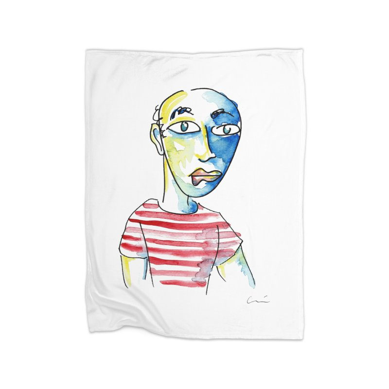 Picasso Home Blanket by luisquintano's Artist Shop
