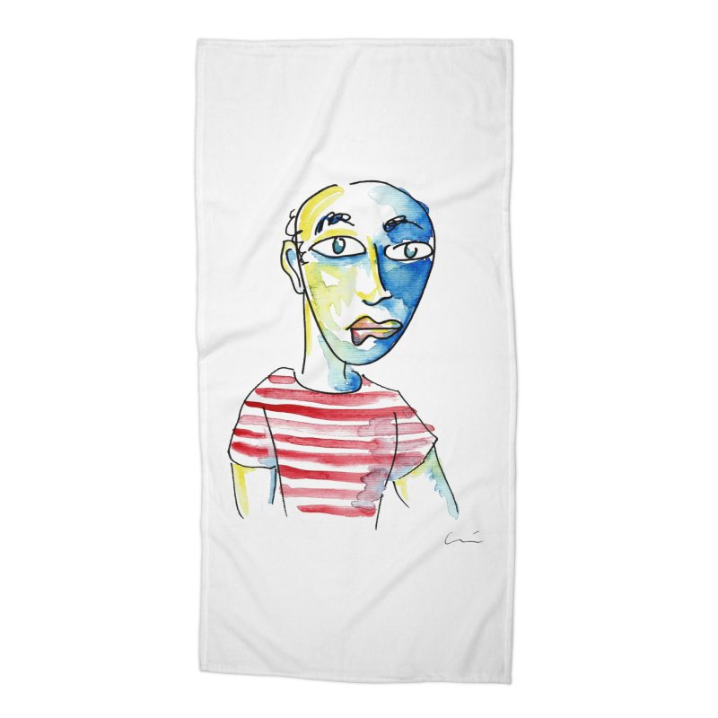 Picasso Accessories Beach Towel by luisquintano's Artist Shop