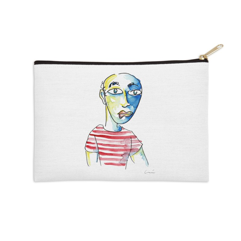 Picasso Accessories Zip Pouch by luisquintano's Artist Shop