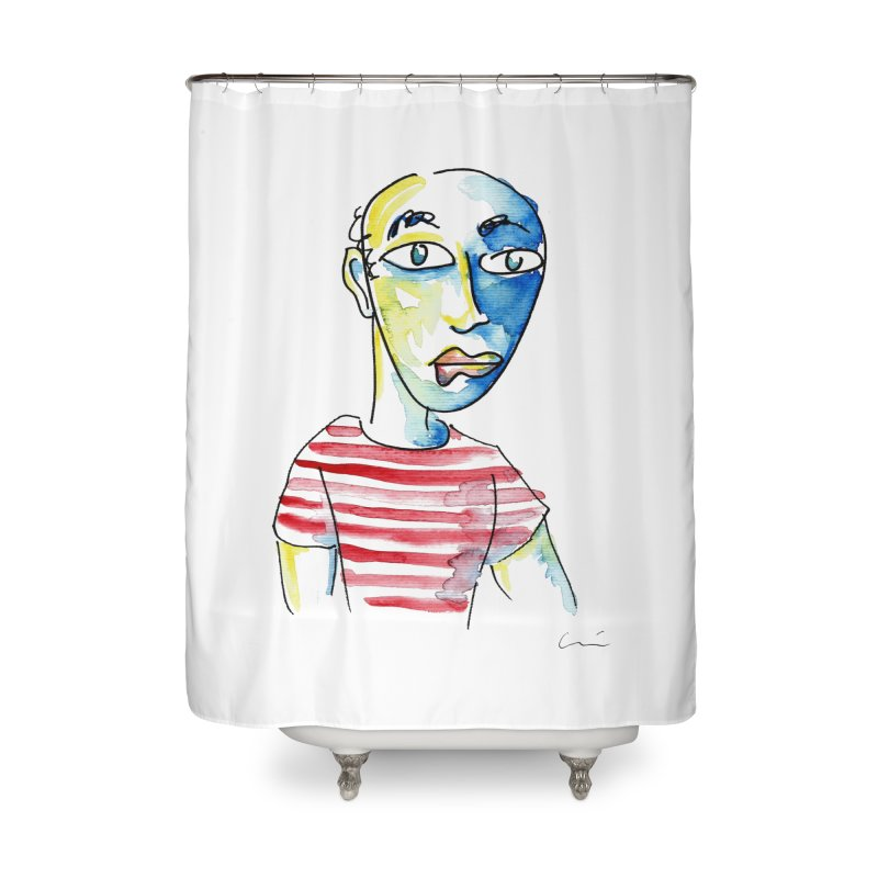 Picasso Home Shower Curtain by luisquintano's Artist Shop