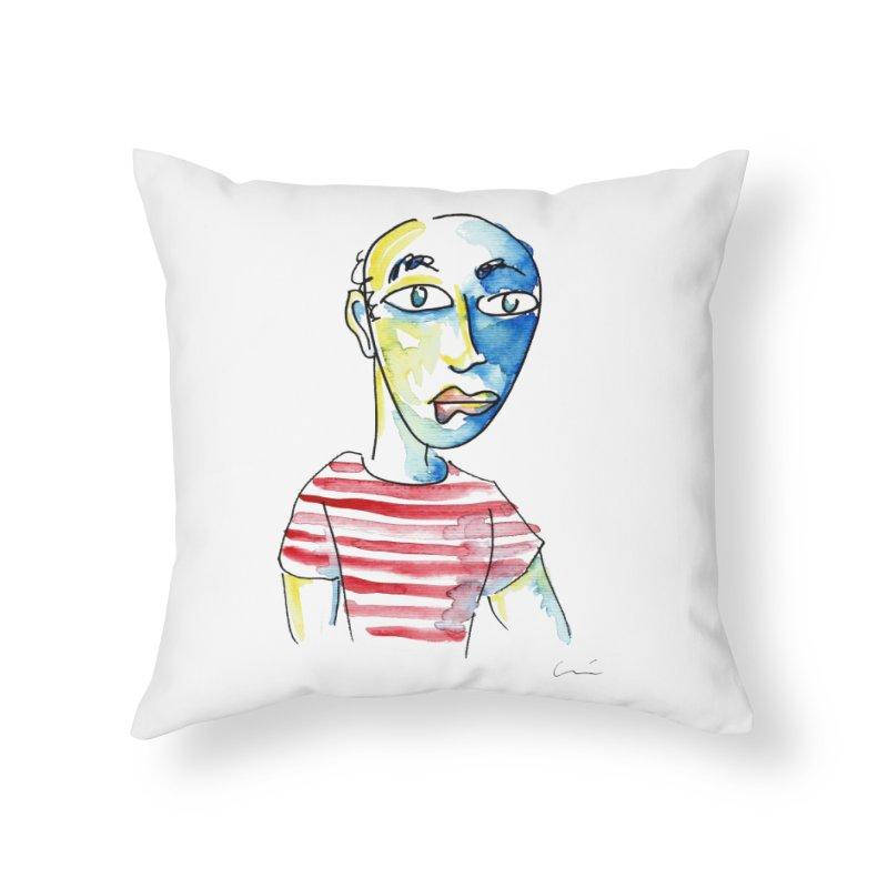 Picasso Home Throw Pillow by luisquintano's Artist Shop