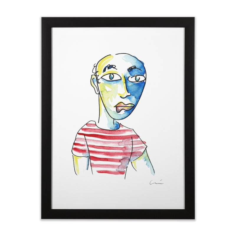 Picasso Home Framed Fine Art Print by luisquintano's Artist Shop
