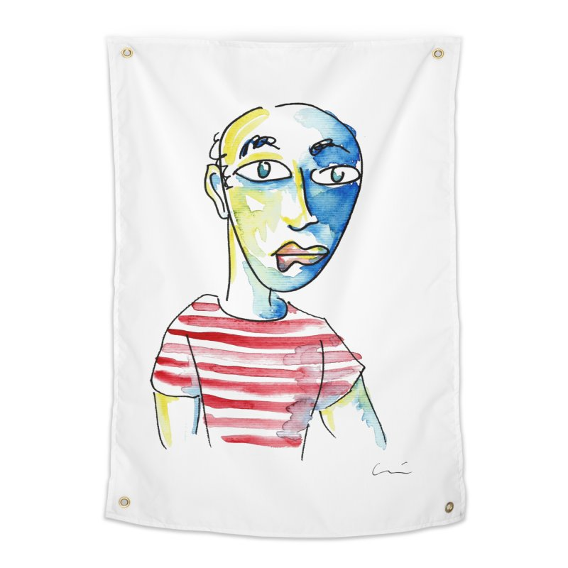 Picasso Home Tapestry by luisquintano's Artist Shop