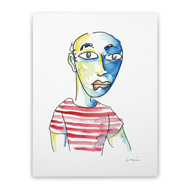 Picasso Home Stretched Canvas by luisquintano's Artist Shop