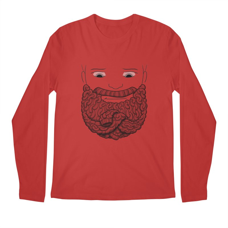 Face Sweater Men's Longsleeve T-Shirt by Luke Wisner