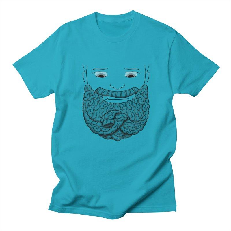 Face Sweater Men's Regular T-Shirt by Luke Wisner