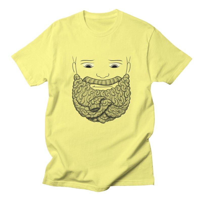 Face Sweater Men's T-Shirt by Luke Wisner