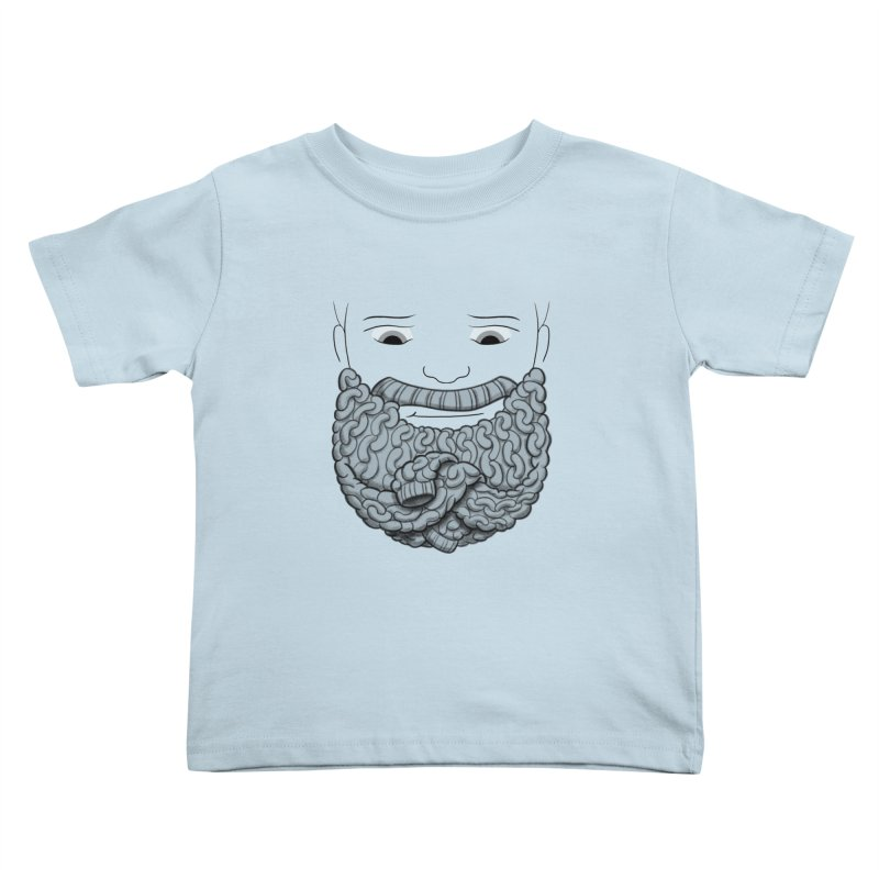 Face Sweater Kids Toddler T-Shirt by Luke Wisner