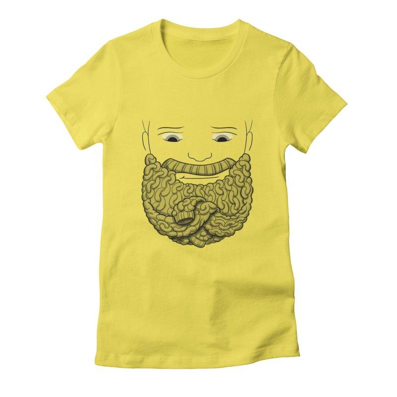Face Sweater Women's T-Shirt by Luke Wisner