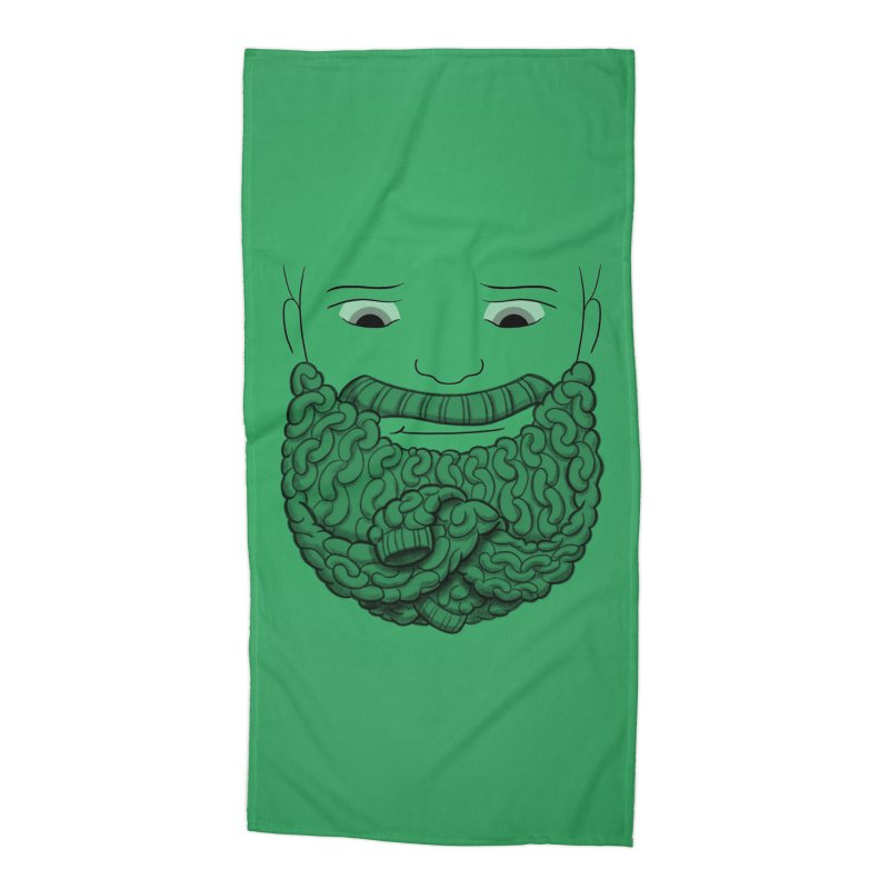 Face Sweater Accessories Beach Towel by Luke Wisner