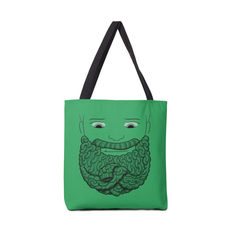 Face Sweater Accessories Tote Bag Bag by Luke Wisner