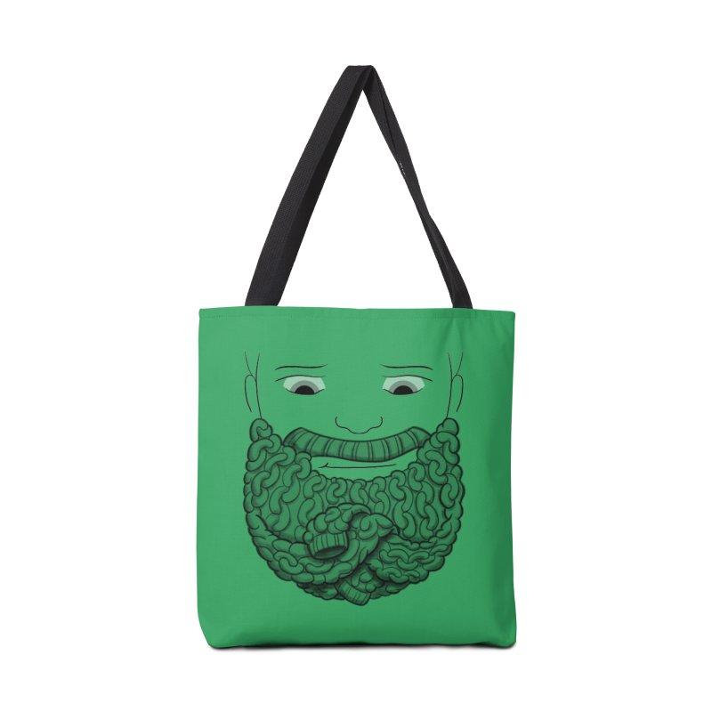 Face Sweater Accessories Bag by Luke Wisner