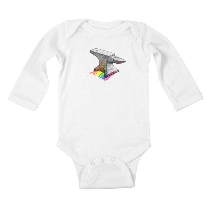 Comedic Depression Kids Baby Longsleeve Bodysuit by Luke Wisner