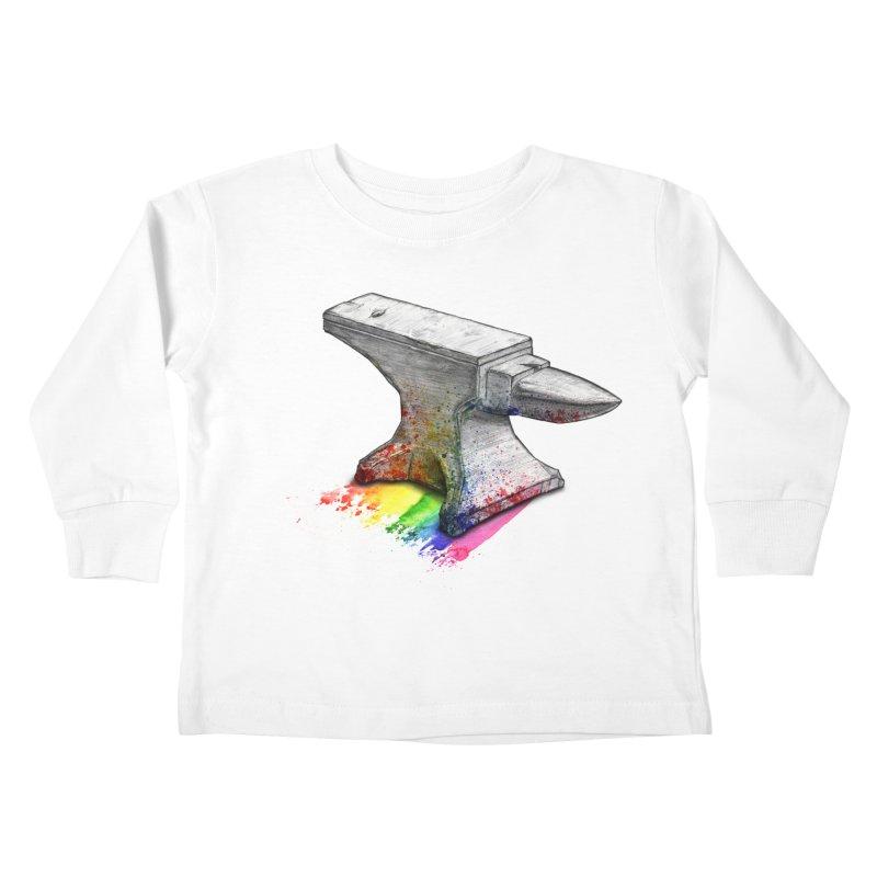 Comedic Depression Kids Toddler Longsleeve T-Shirt by Luke Wisner