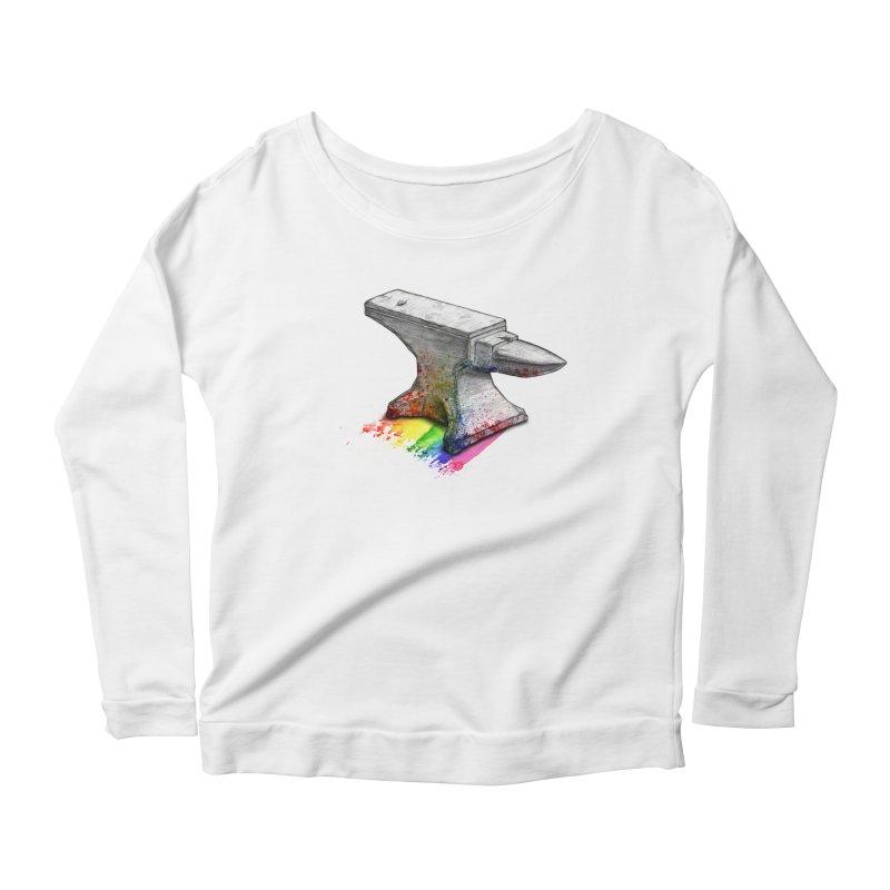 Comedic Depression Women's Scoop Neck Longsleeve T-Shirt by Luke Wisner